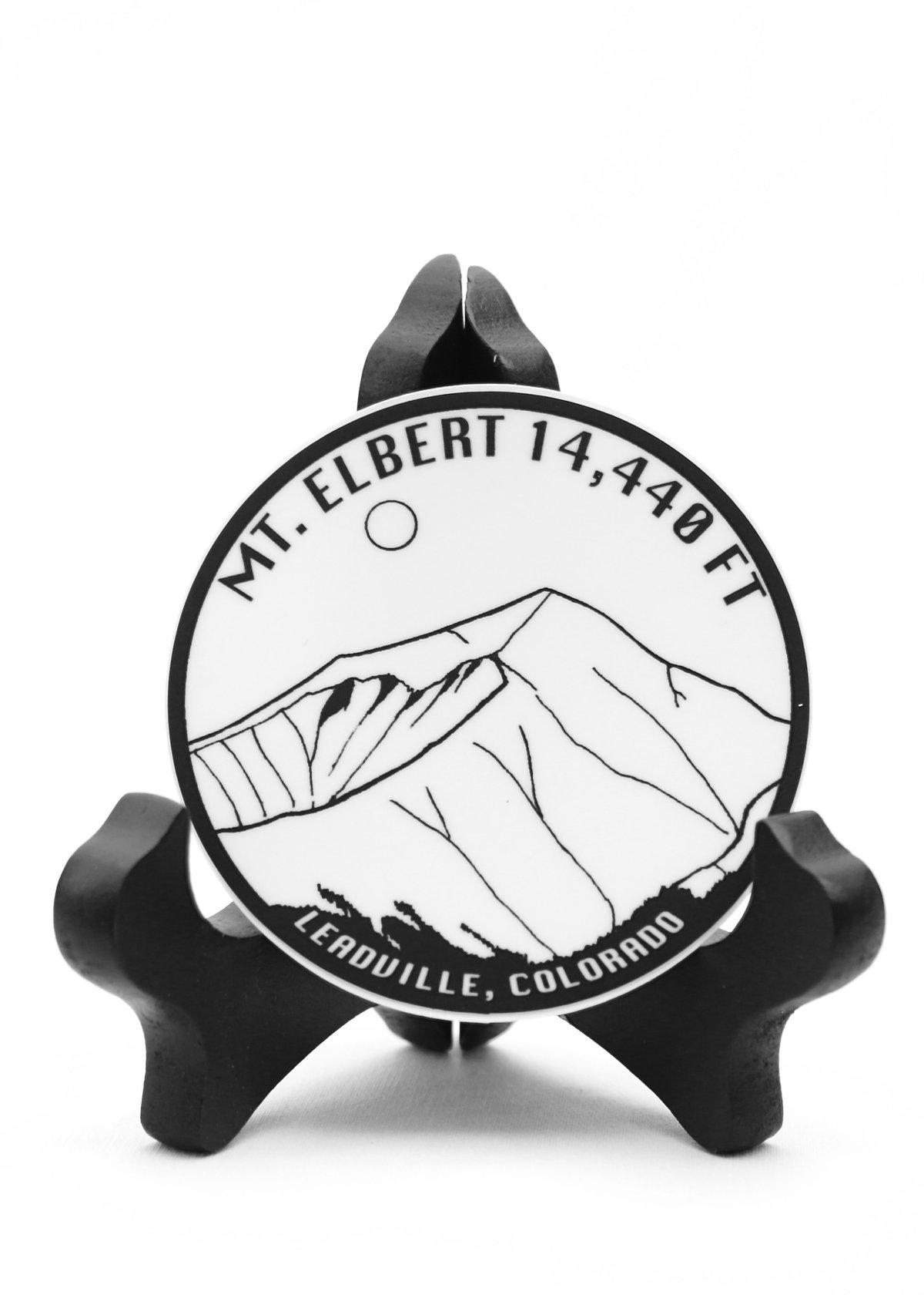 Image of Mt. Elbert Sticker