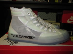 "Image of Converse Chuck Taylor All-Star x Off-White ""Vulcanized"" *PRE-OWNED*"