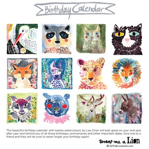 Image of Birthday Calendar