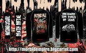 "Image of PUTRID PILE ""Onward the Dogs of War"" LONGSLEEVE T-shirt PRE-ORDER"