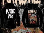 "Image of PUTRID PILE ""Onward the Dogs of War"" Hooded Pullover PRE-ORDER"