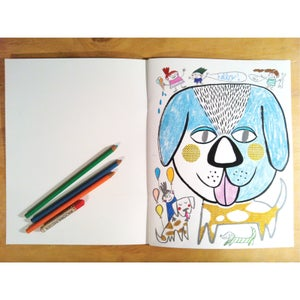 Image of Mask Colouring Book