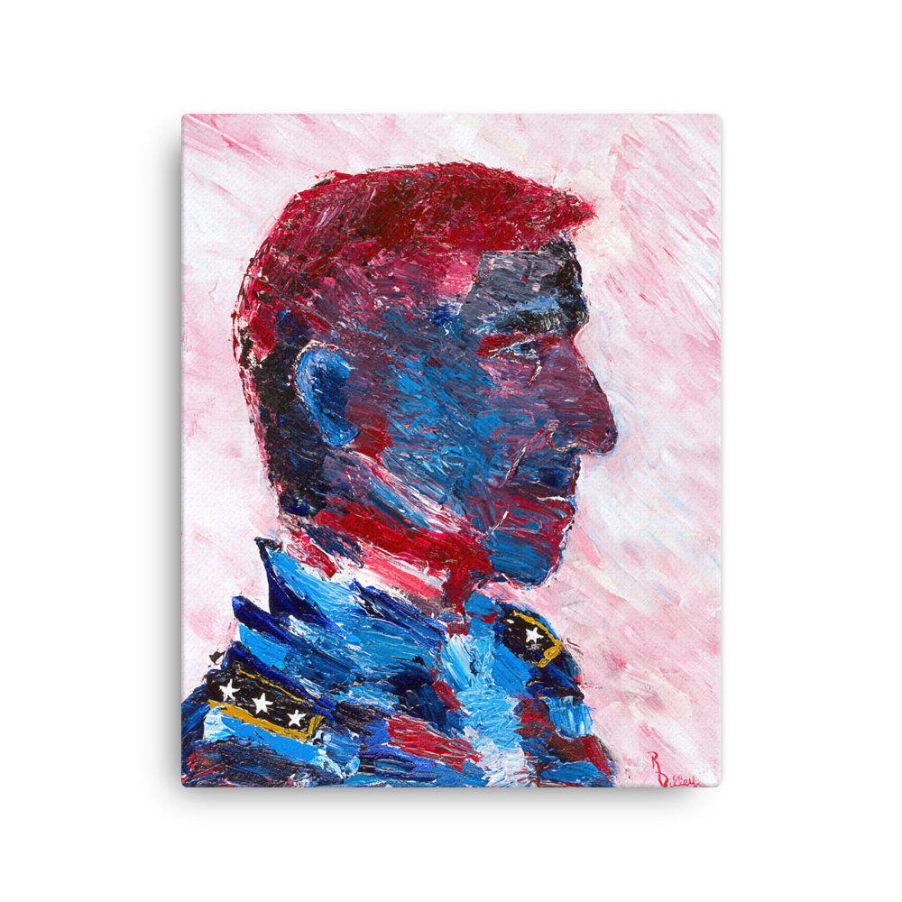"Image of ""General Flynn"" Gallery Canvas Print"