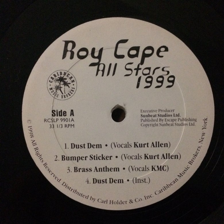 Image of Roy Cape  All Stars 99