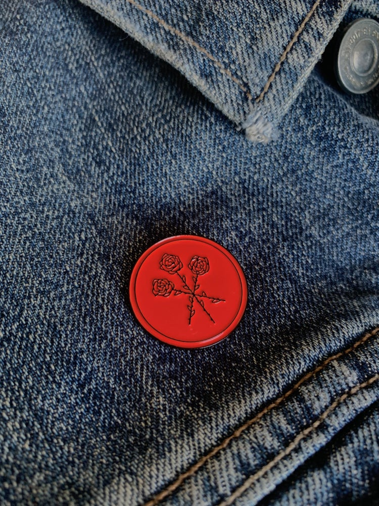 Image of Dear Boy Enamel Pin (Red)