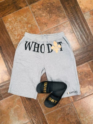 WHO DAT shorts