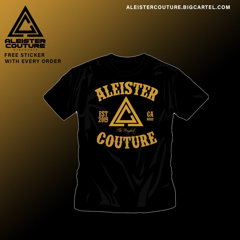 Image of Aleister Couture Golden Shirt