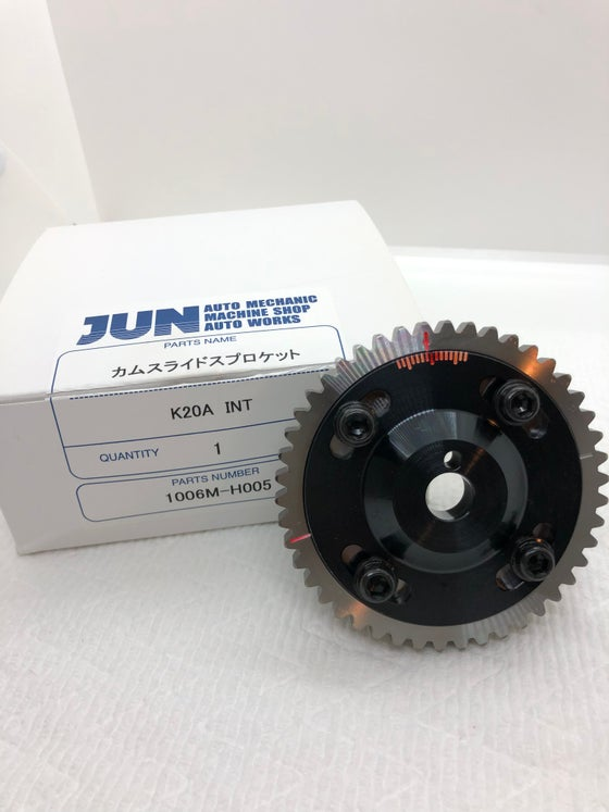 Image of JUN Auto Mechanic Billet Honda K20/K24 Cam Gears