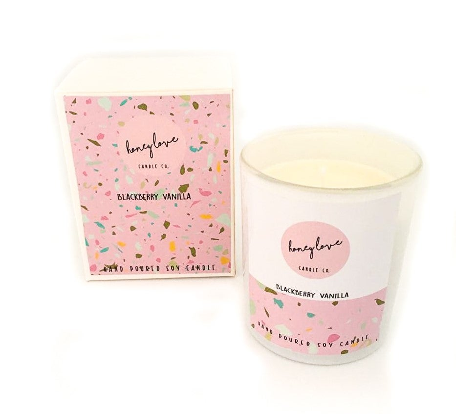 Image of Blackberry Vanilla Soy Candle