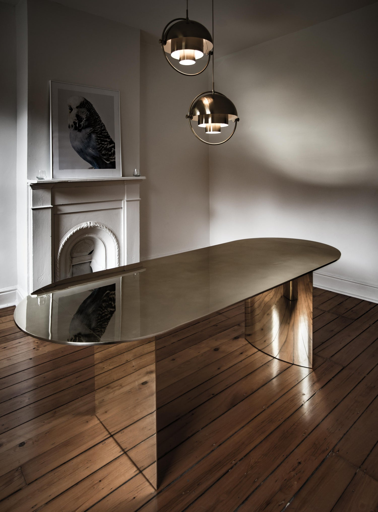 Image of Brass Table