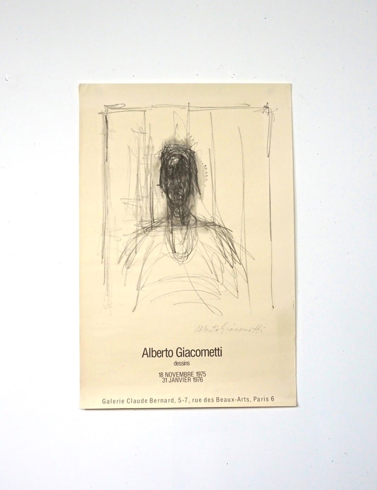 Image of poster / giacometti