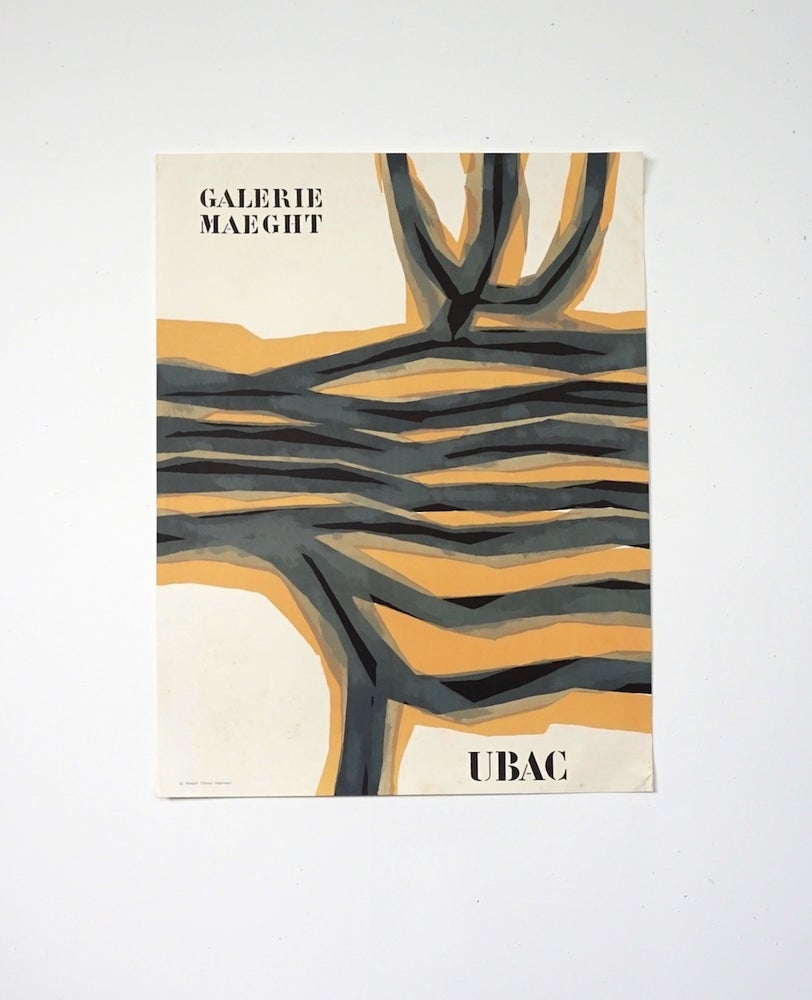 Image of poster / ubac