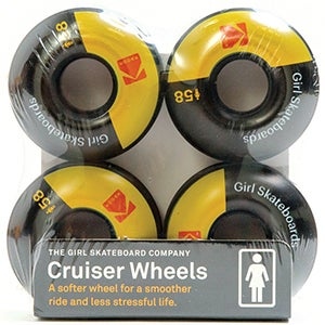 Image of Girl Kodak Cine Cruiser 85D Skateboard Wheels 58mm