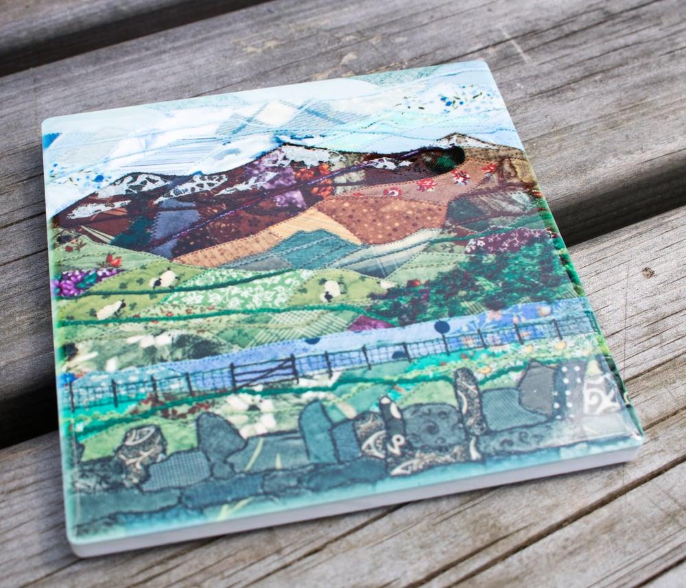 Image of Snowdon Ceramic Coaster