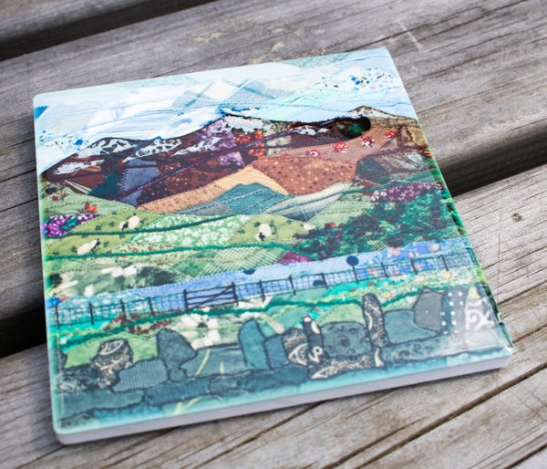 Image of Snowdon Ceramic Coaster