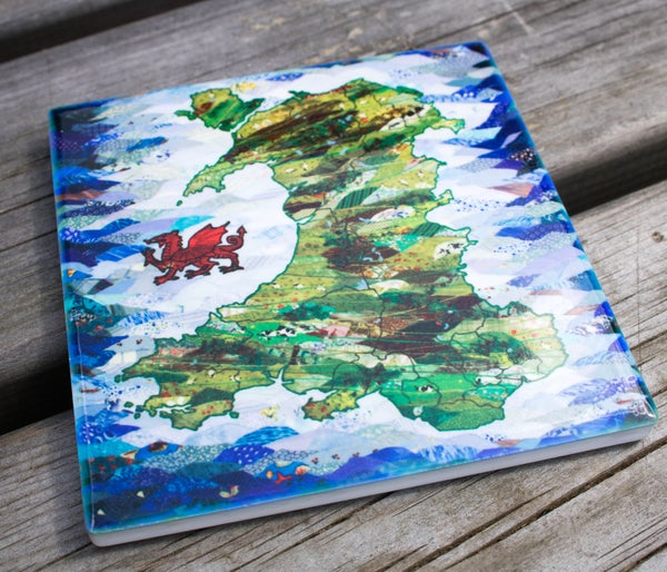 Image of Wales Ceramic Coaster