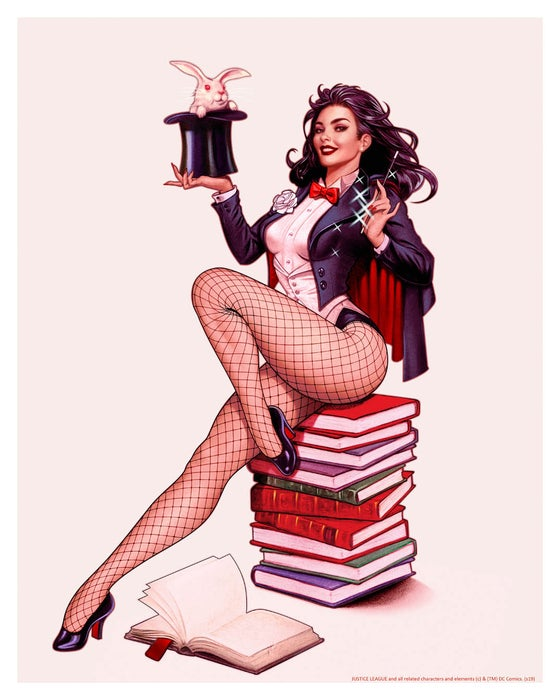 Image of Zatanna: Rabbit Artist Proof