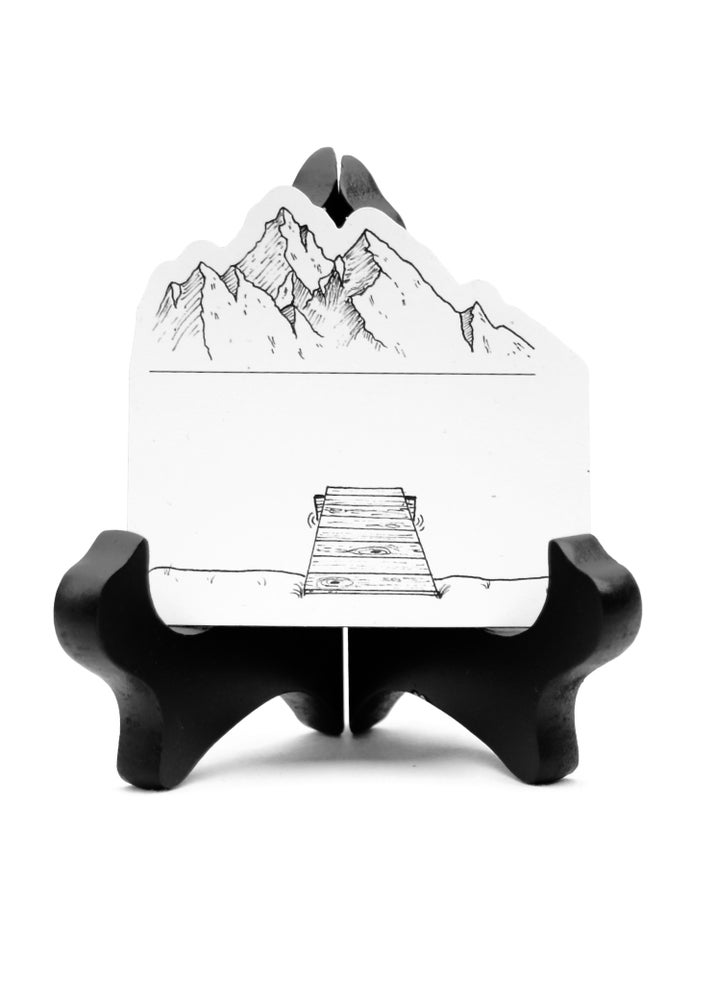 Image of Mystic Mountain Lake Magnet