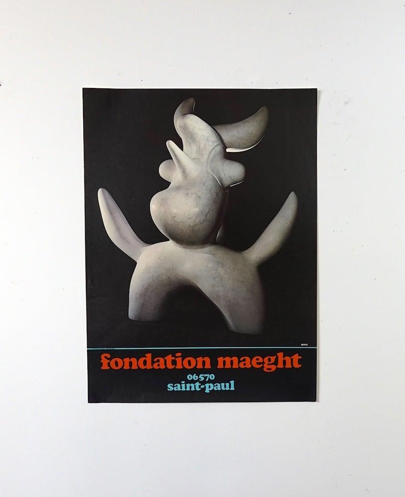 Image of poster / miro sculpture