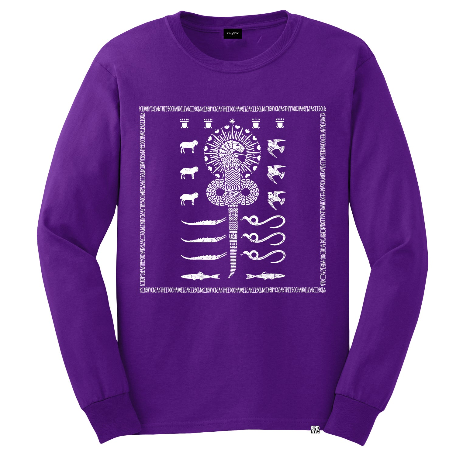 Image of KingNYC Chnoubis Long Sleeve T-Short
