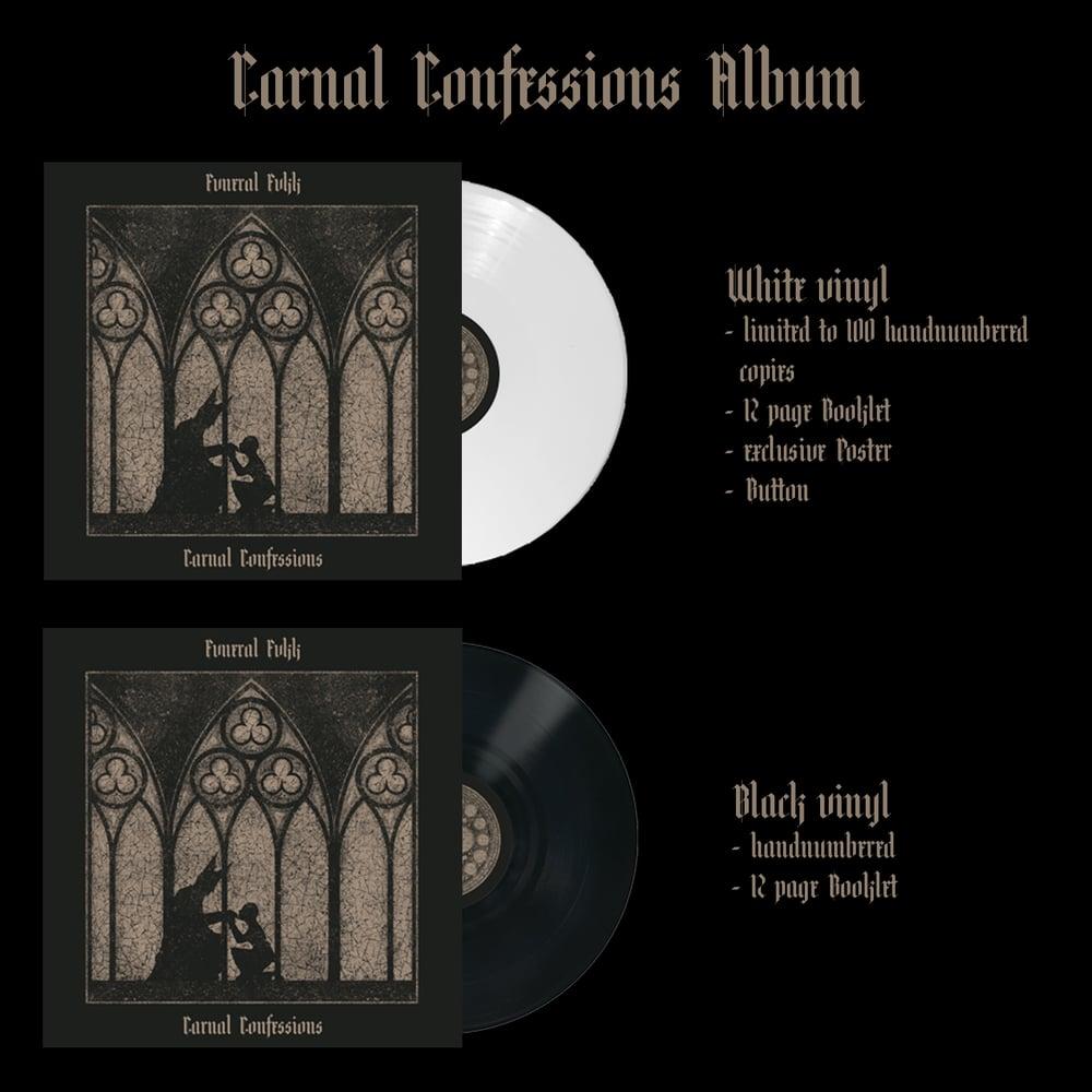 "Image of PREORDER: ""Carnal Confessions""- Album VINYL"