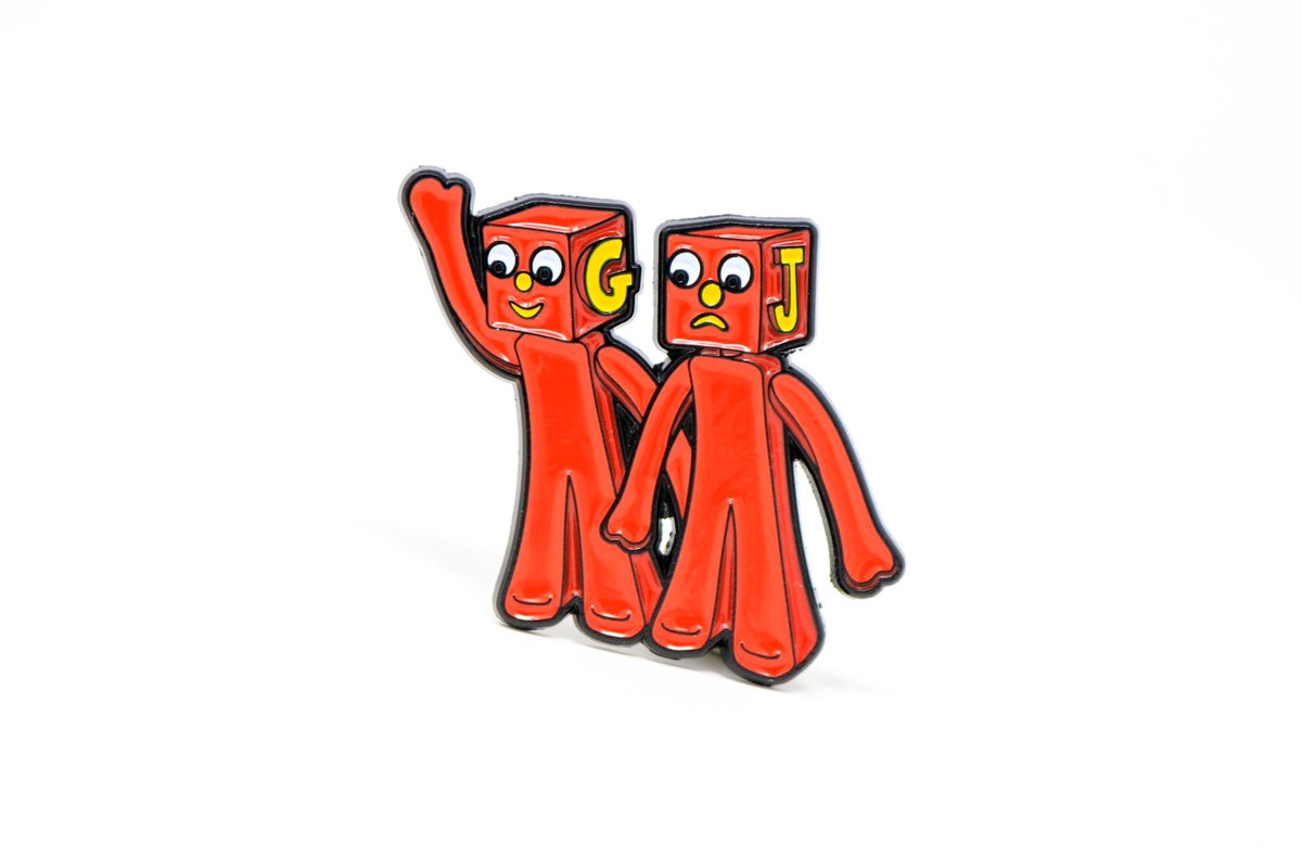 Image of Gumby - The Blockheads Enamel Pin