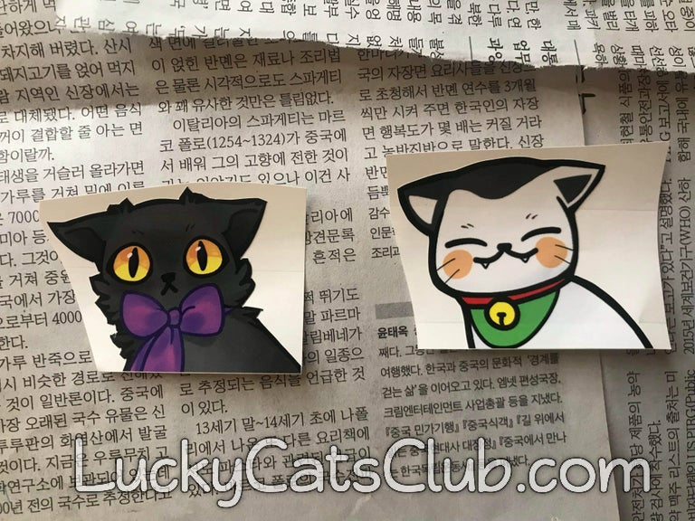 Image of Lucky Cats Peekings