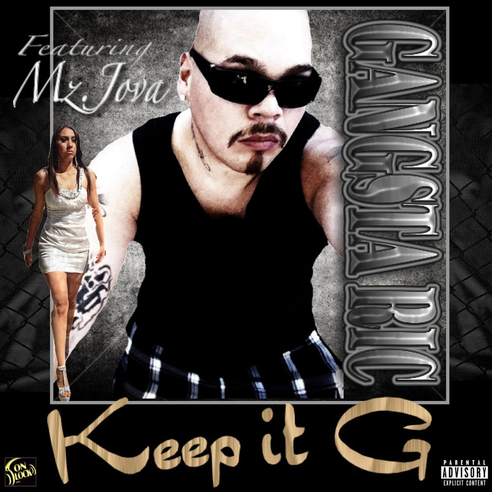 "Image of ""KEEP IT G"" by GANGSTA RIC (2013)"