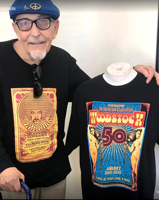 Image of WOODSTOCK 50th T-Shirt 1969-2019