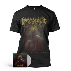 Image of PRE ORDER / MURDER MADE GOD - CD / T-Shirt / Sticker Package