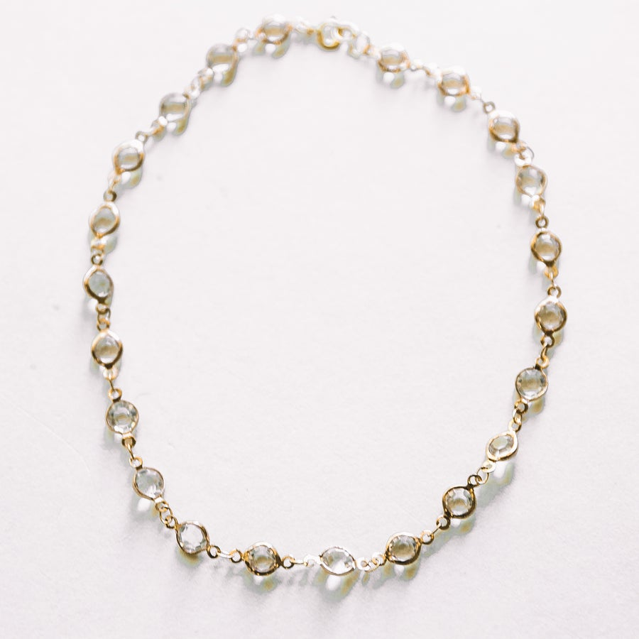 Image of The CZ Gold Choker