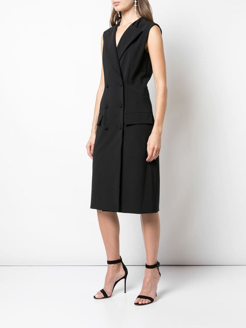 Image of Double-Breasted Blazer Dress
