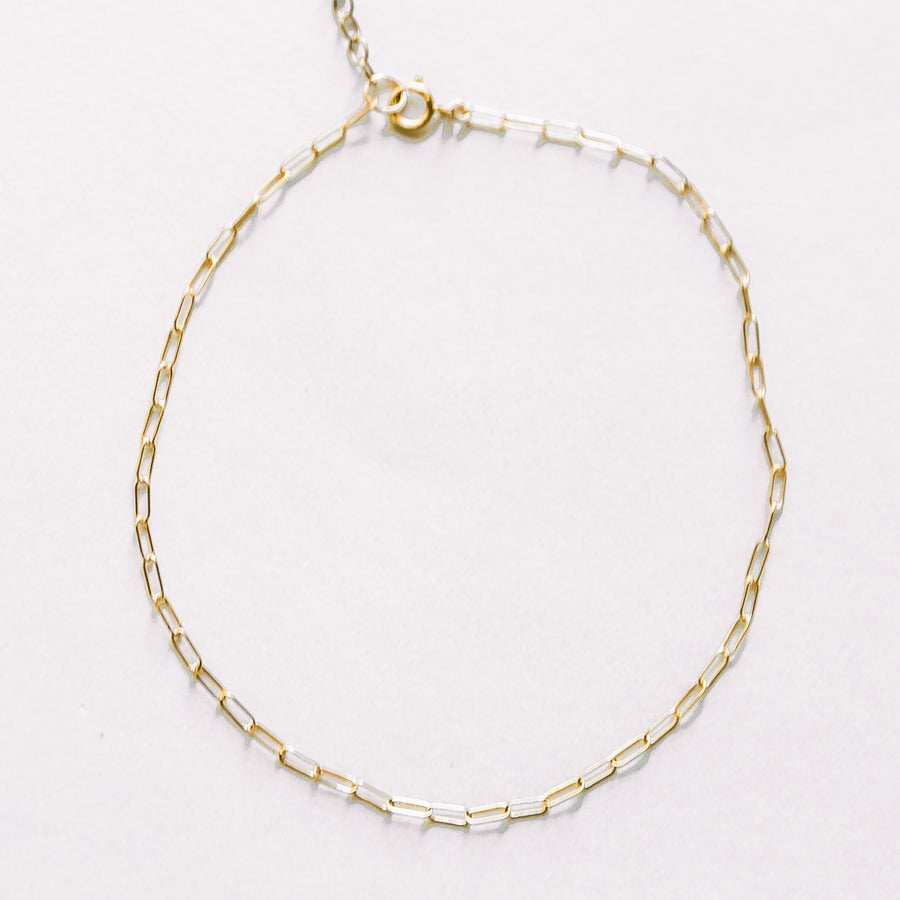 Image of The Square Anklet