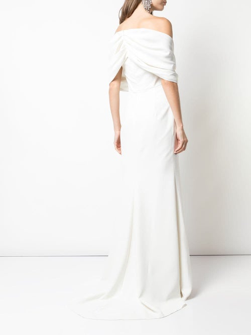 Image of Off-the-Shoulder Gown