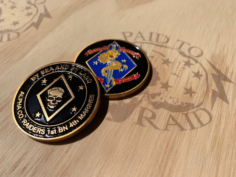 Image of Alpha 1/4 Challenge Coin