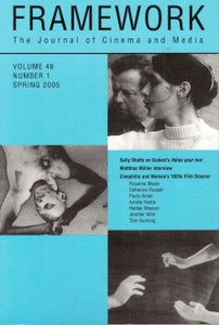 Image of Framework Vol. 46, No. 1 (Spring 2005)