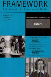 Image of Framework Vol. 48, No. 2 (Fall 2007)