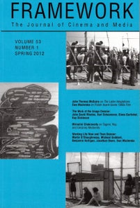 Image of Framework Vol. 53, No. 1 (Spring 2012)