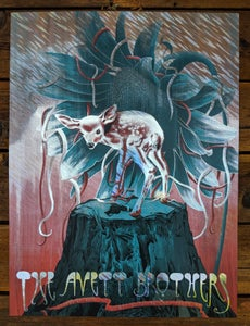 Image of Avett Brothers in Salem, OR Poster - Foil Variant