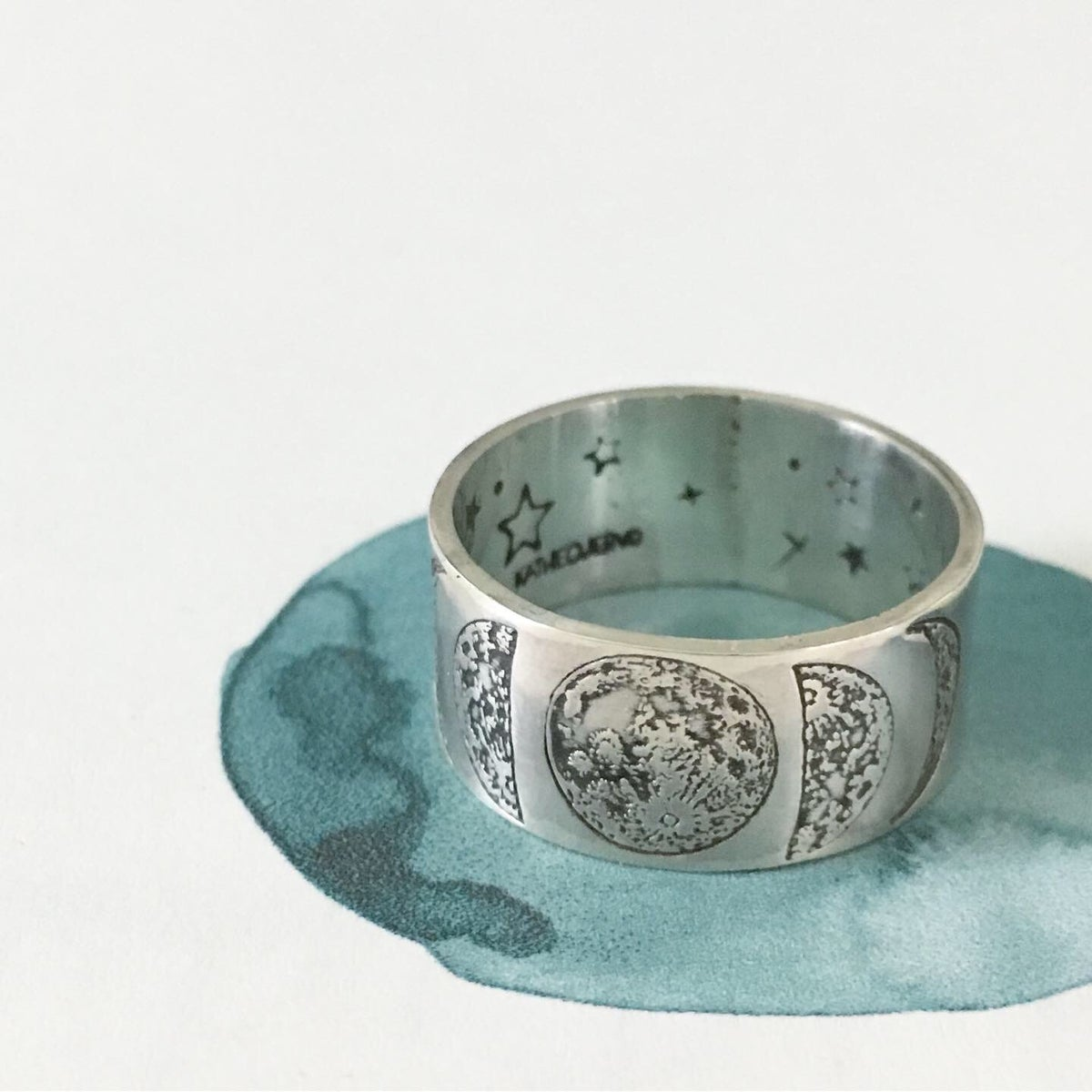 Image of Moon phase ring
