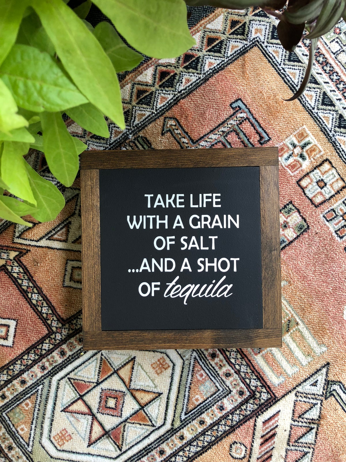 Image of Take life with a grain of salt