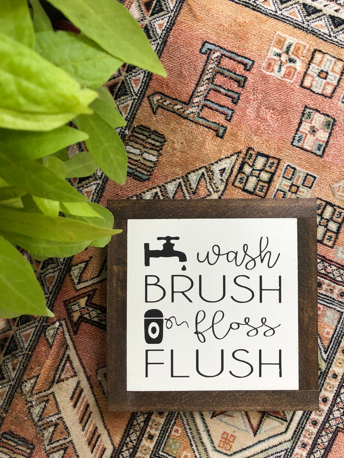 Image of Wash, Brush, Floss, Flush