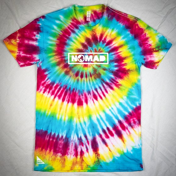 "Image of ""NOMAD"" Tiedye Tee (limited)"