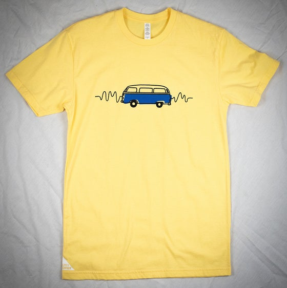 Image of VW Bus Wavelength Tee