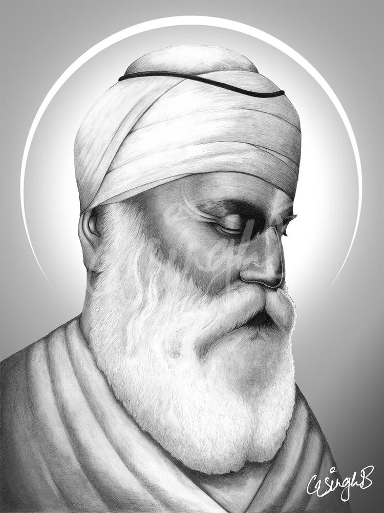 Image of Guru Nanak Dev Ji (Print)