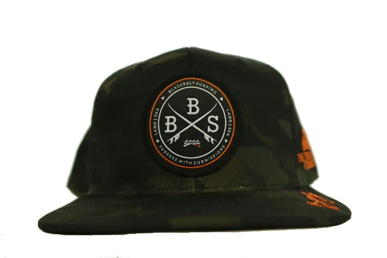 Image of T-City x Ortega Foundation Hat (Black Camo)