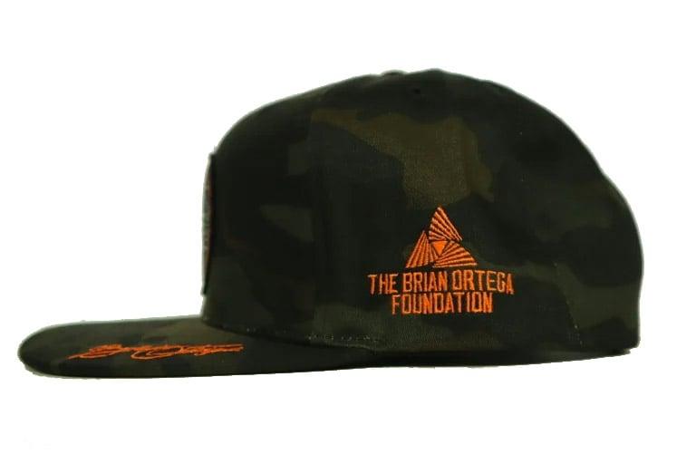 Image of T-City x Ortega Foundation Hat (Black Camo)