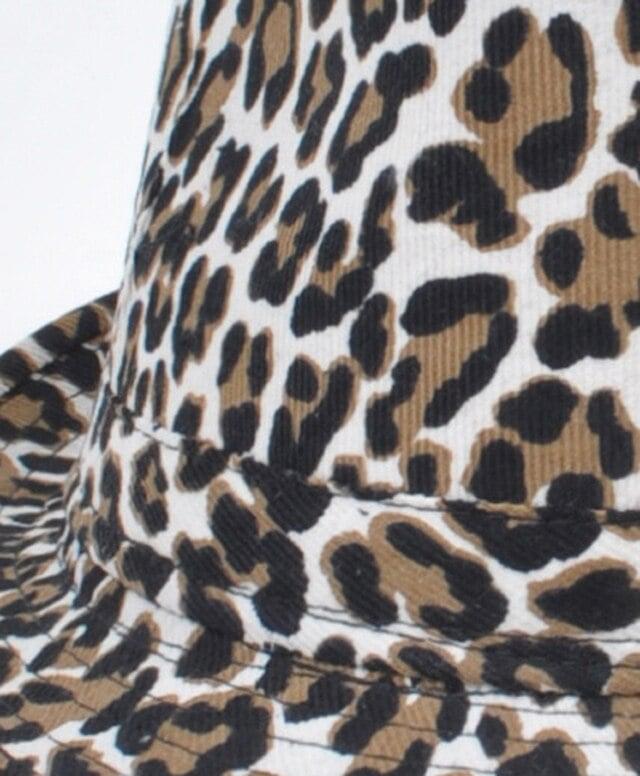 Image of Animal Print Fedora Hat