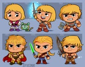 Image of Evolution of He-Man