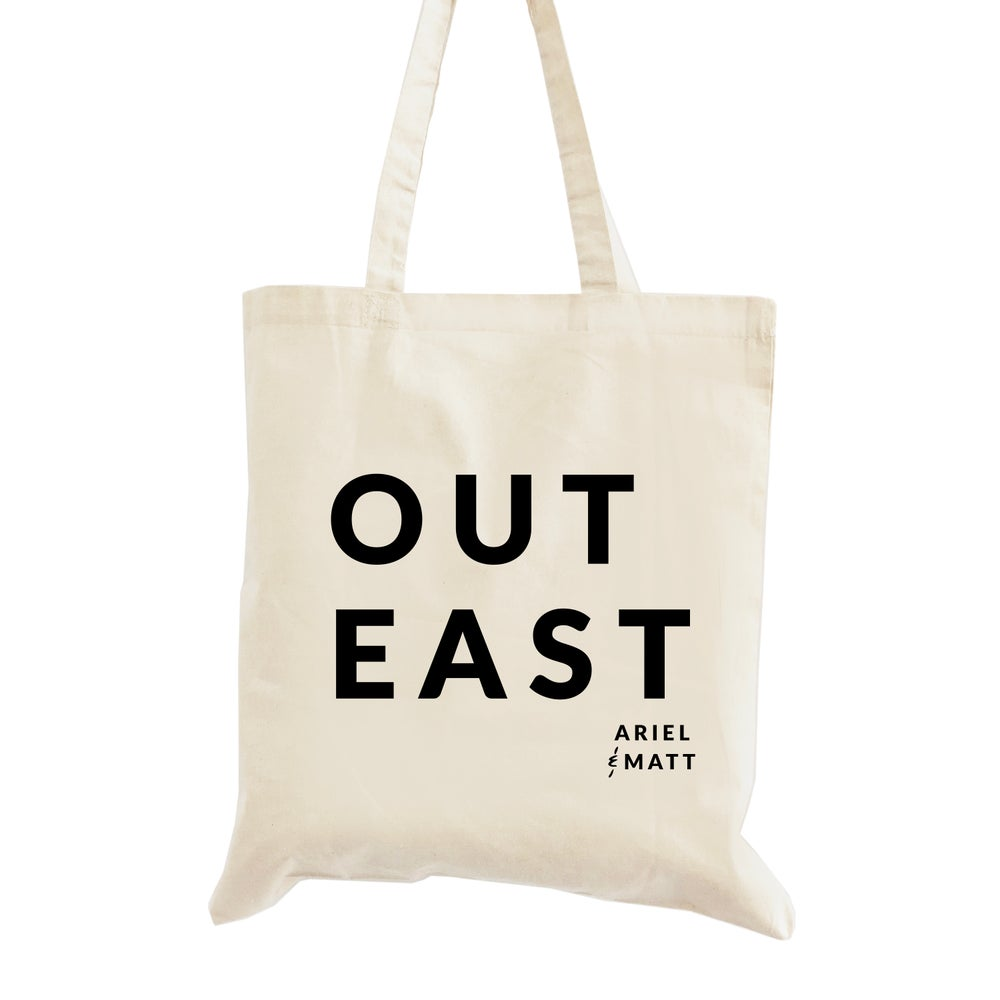 Image of Out East Wedding Welcome Tote Bag